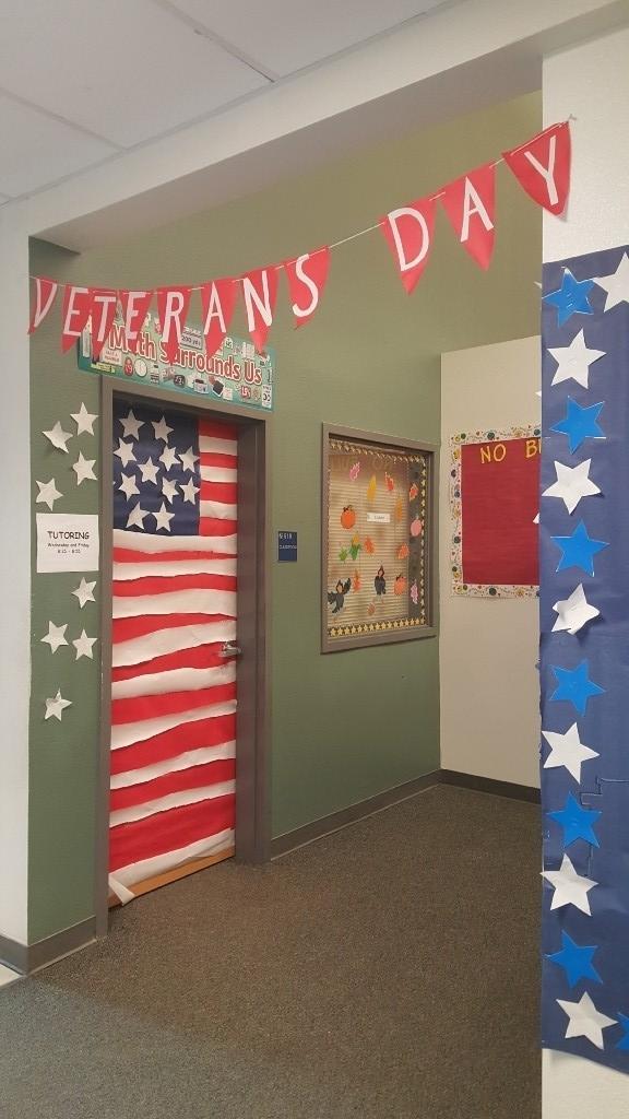 Veteran's Day Door