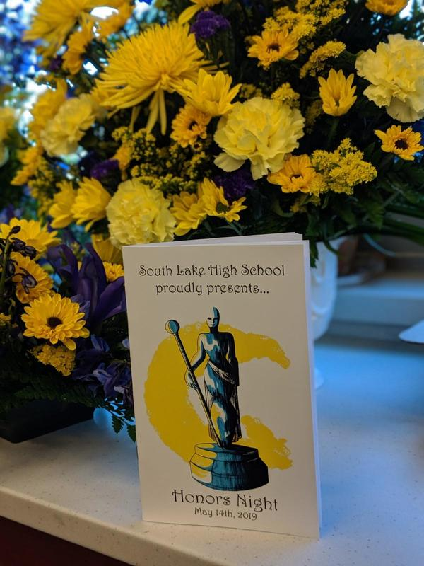 Honors Night booklet