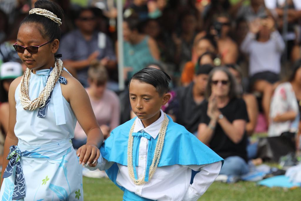Niihau princess and escort
