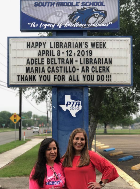 Librarian Week 8-12, 2019
