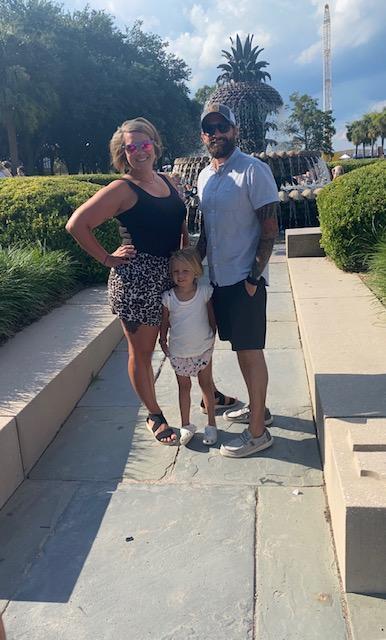 Family time in Charleston