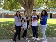 Congratulations to Lake Center's newest tenured teachers. Congratulations Ms. Cerritos, Ms. Bansberg, Mr. Palomino, and Ms. Florez!