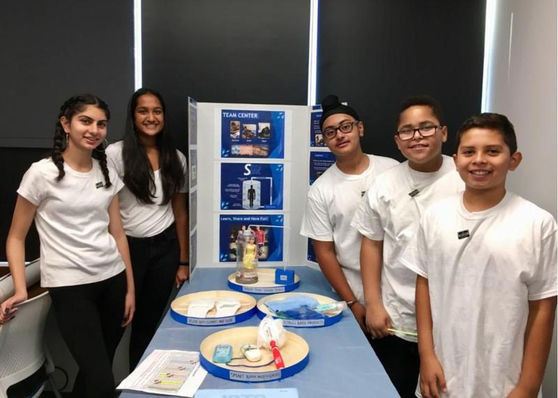 Moreland Middle First LEGO Robotics Team Advances to State Finals Thumbnail Image