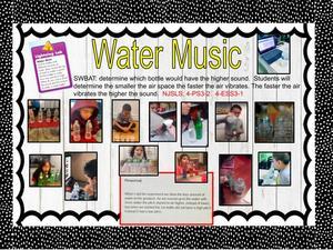Water music slide