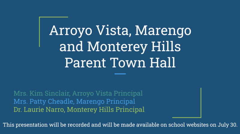 RECORDED WEBINAR: Elementary Parent Town Hall Meeting Regarding 2020-2021 Featured Photo