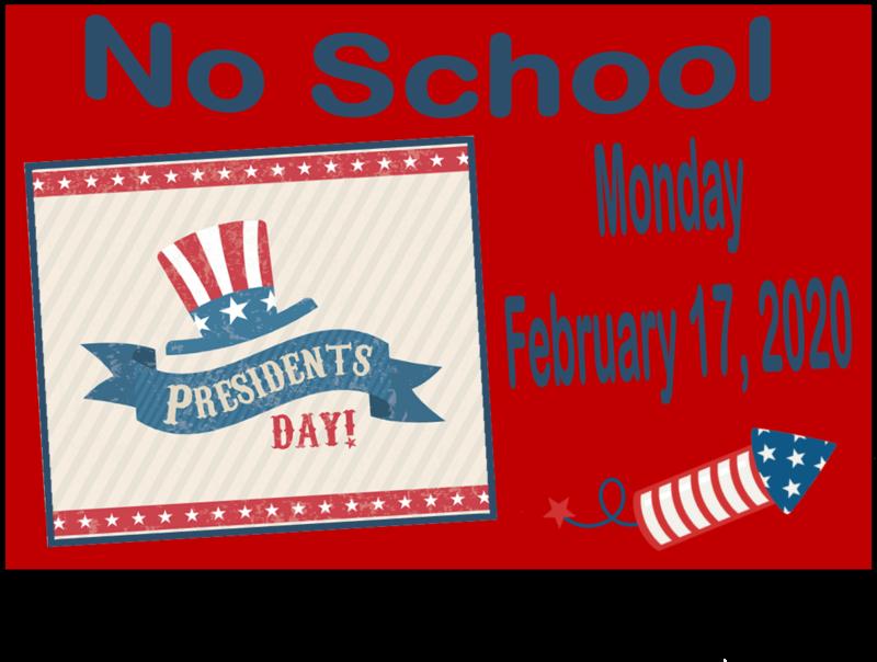 No school President's Day
