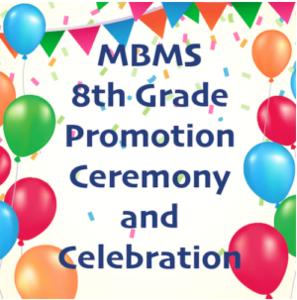 8th grade promotion ceremony and celebration