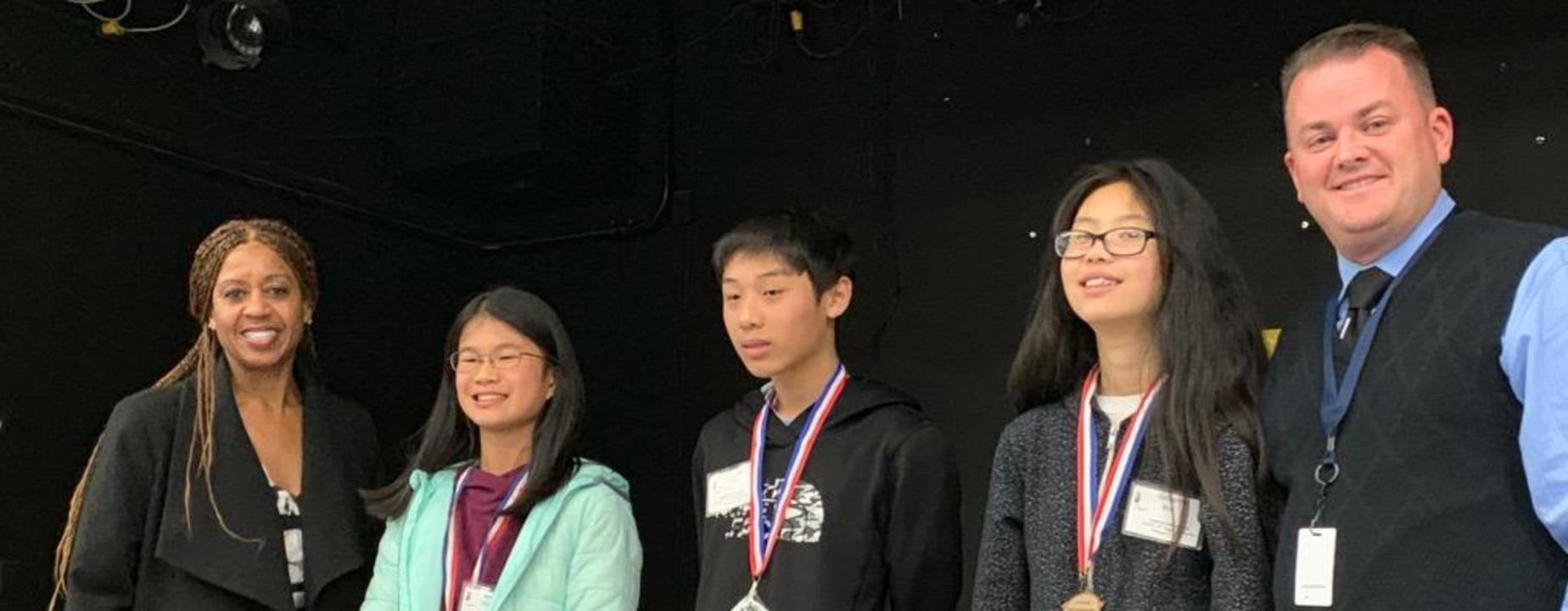 Secondary Spelling Bee Winners