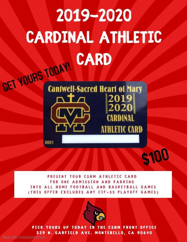 Get Your Cardinal Athletic Card! Thumbnail Image