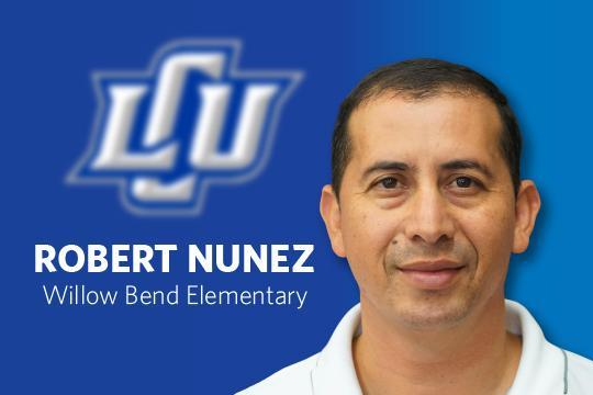 LCU Distinguished Educator