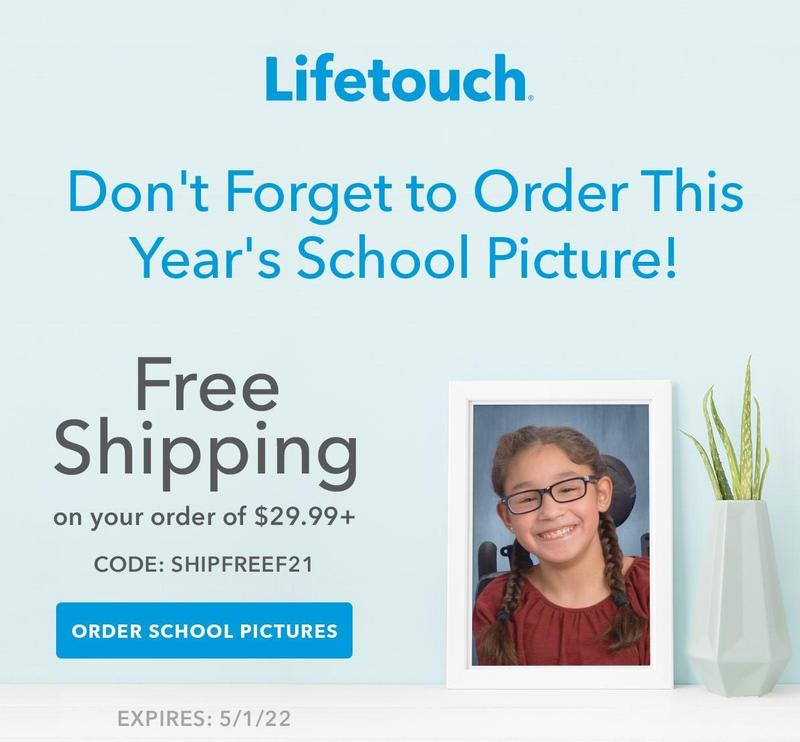 Order your Lifetouch Pictures TODAY! Thumbnail Image