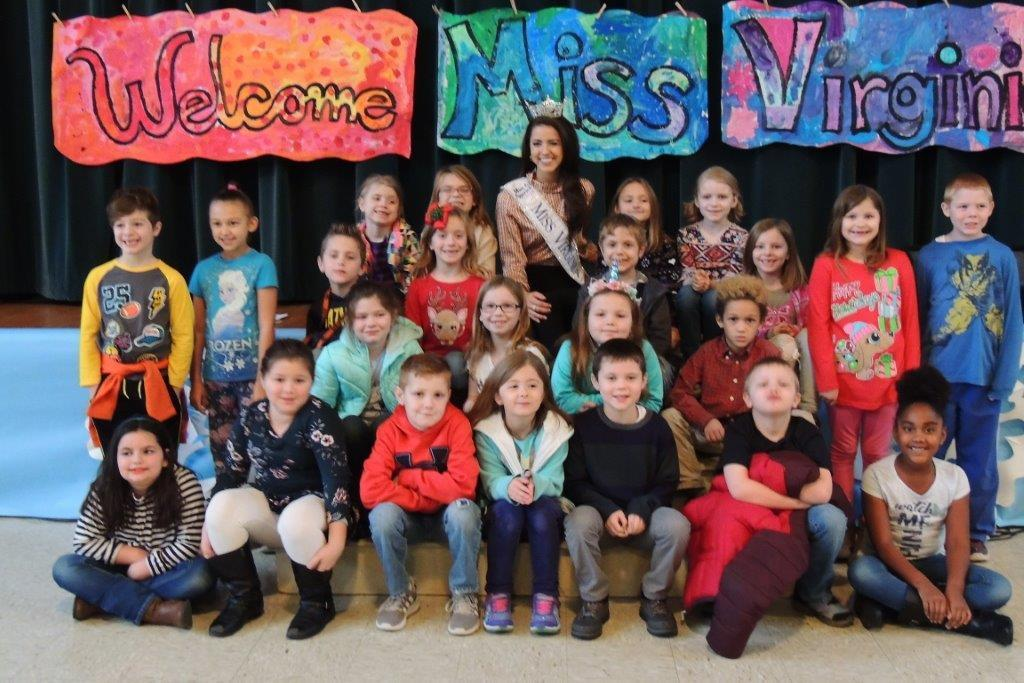 Ms. Virginia with fourth grade