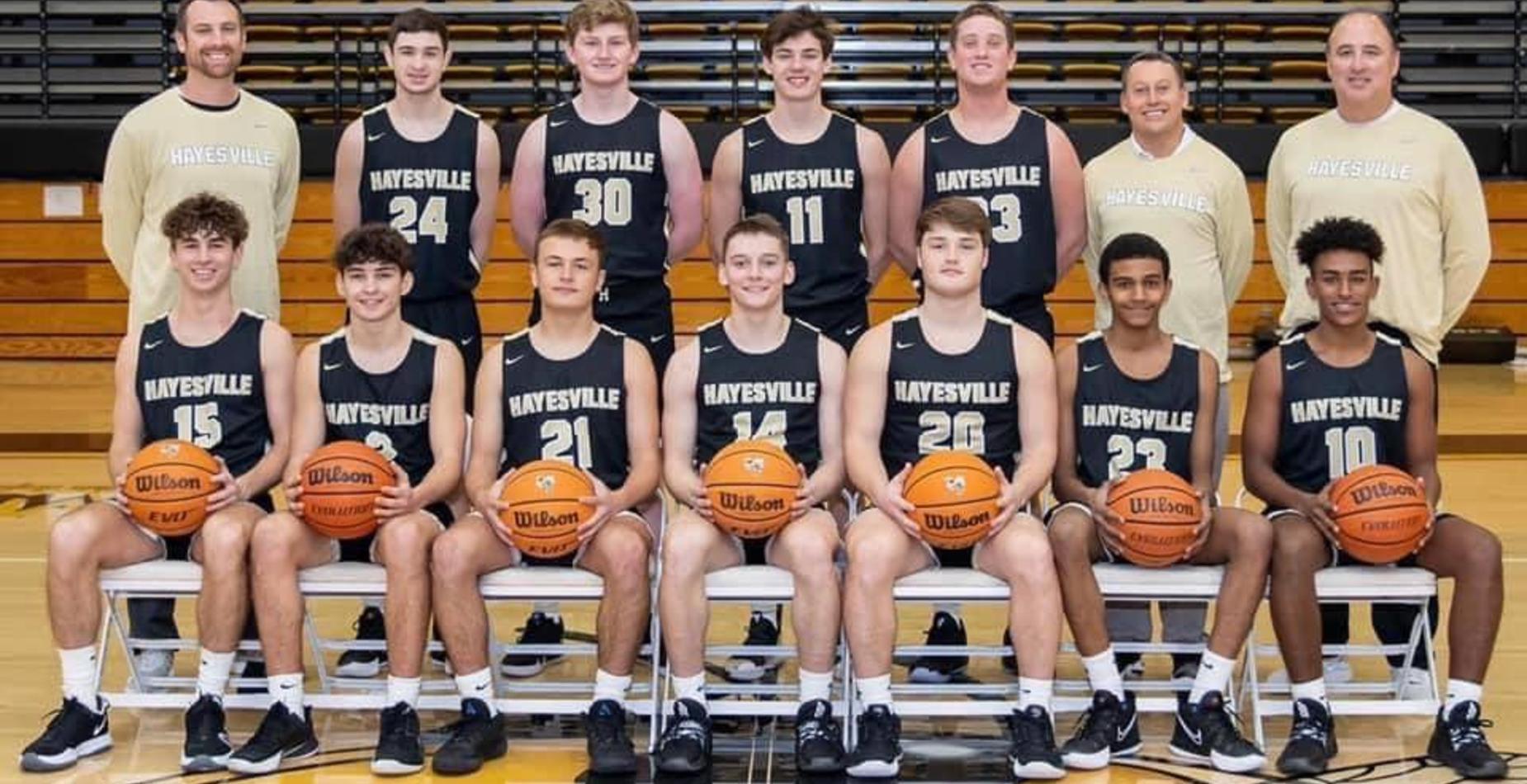 HHS Varsity Basketball SMC Champions 2021