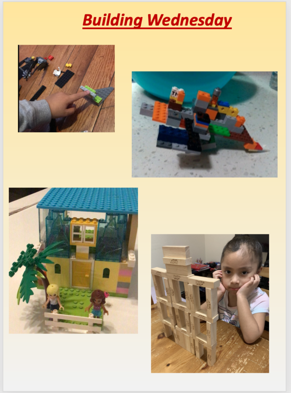 Lego and and jenga structures for