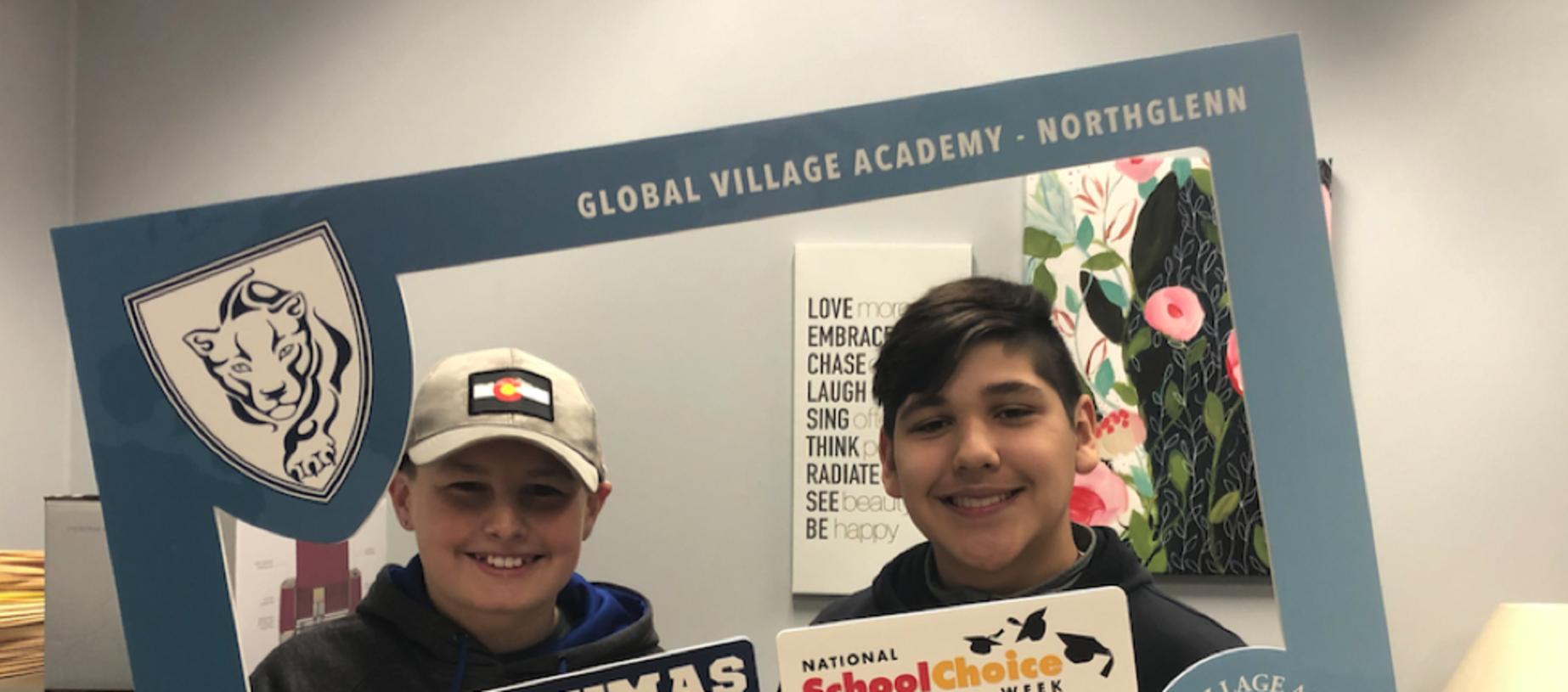 8th Graders Puma Proud National School Choice Week