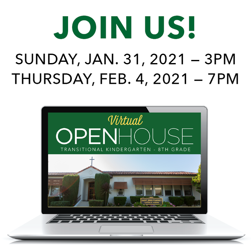 REGISTER FOR UPCOMING 2021 VIRTUAL OPEN HOUSE Featured Photo