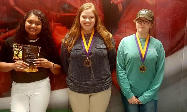 Opelousas High School students win at the Louisiana State Social Studies Fair.