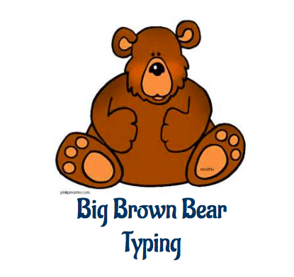 Big Brown Bear Typijng