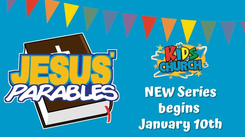 Kids Church Parables Series Featured Photo