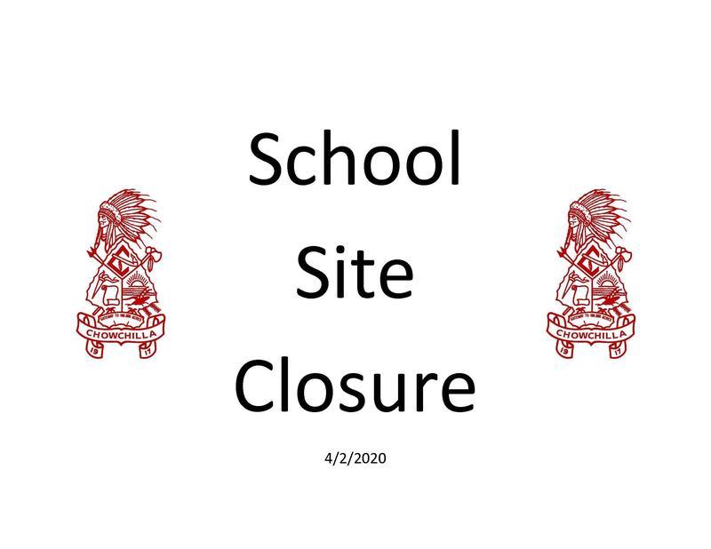 School Site Closure