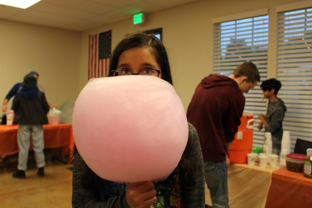 Fun with Cotton Candy
