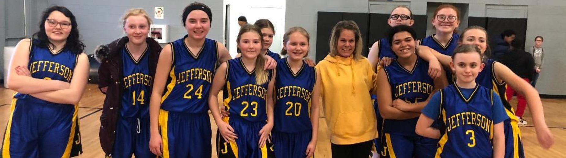 Middle School Girls Basketball