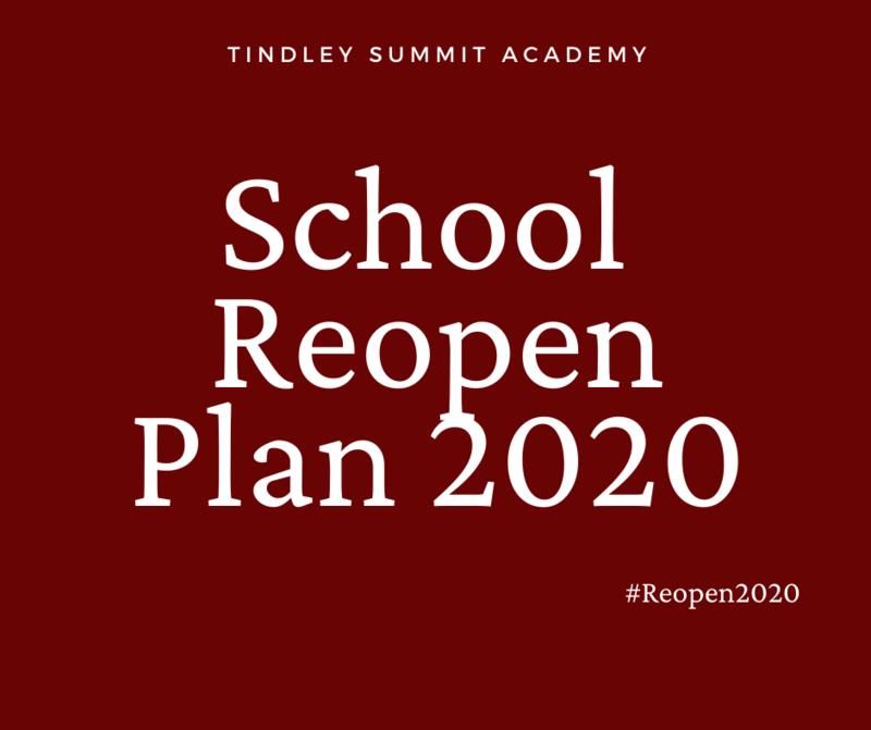 Tindley Summit Academy School Reopen Plan Featured Photo