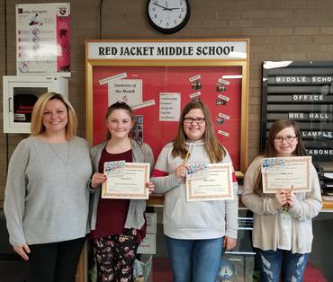 Students of the Month March 2018