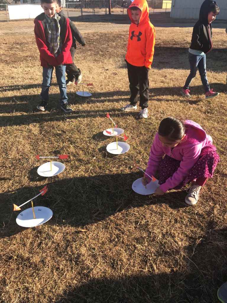 made weather vanes to measure the wind direction