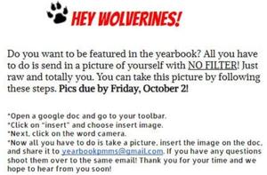 The 2020-21 Yearbook needs your photos! Featured Photo