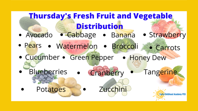 Thursday Fresh Fruit and Vegetable Distribution Featured Photo
