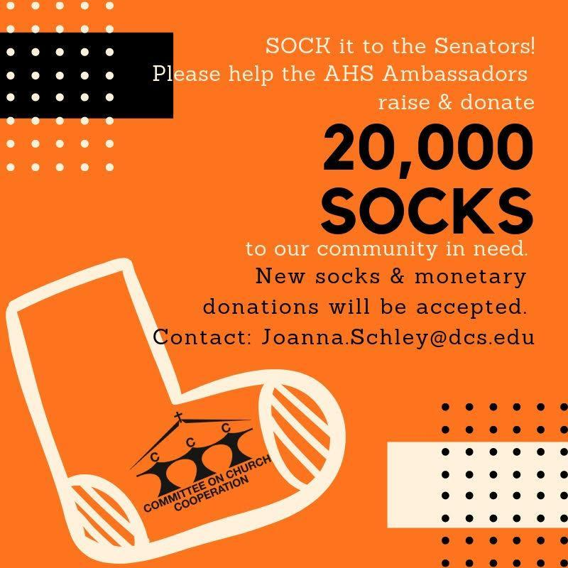 info about collecting socks for the homeless