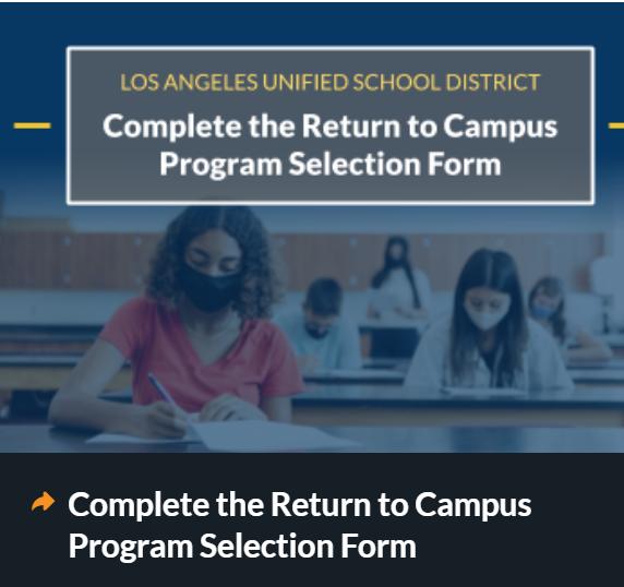 Return to Campus Survey