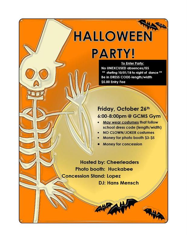 Halloween Party - Oct. 26! Featured Photo