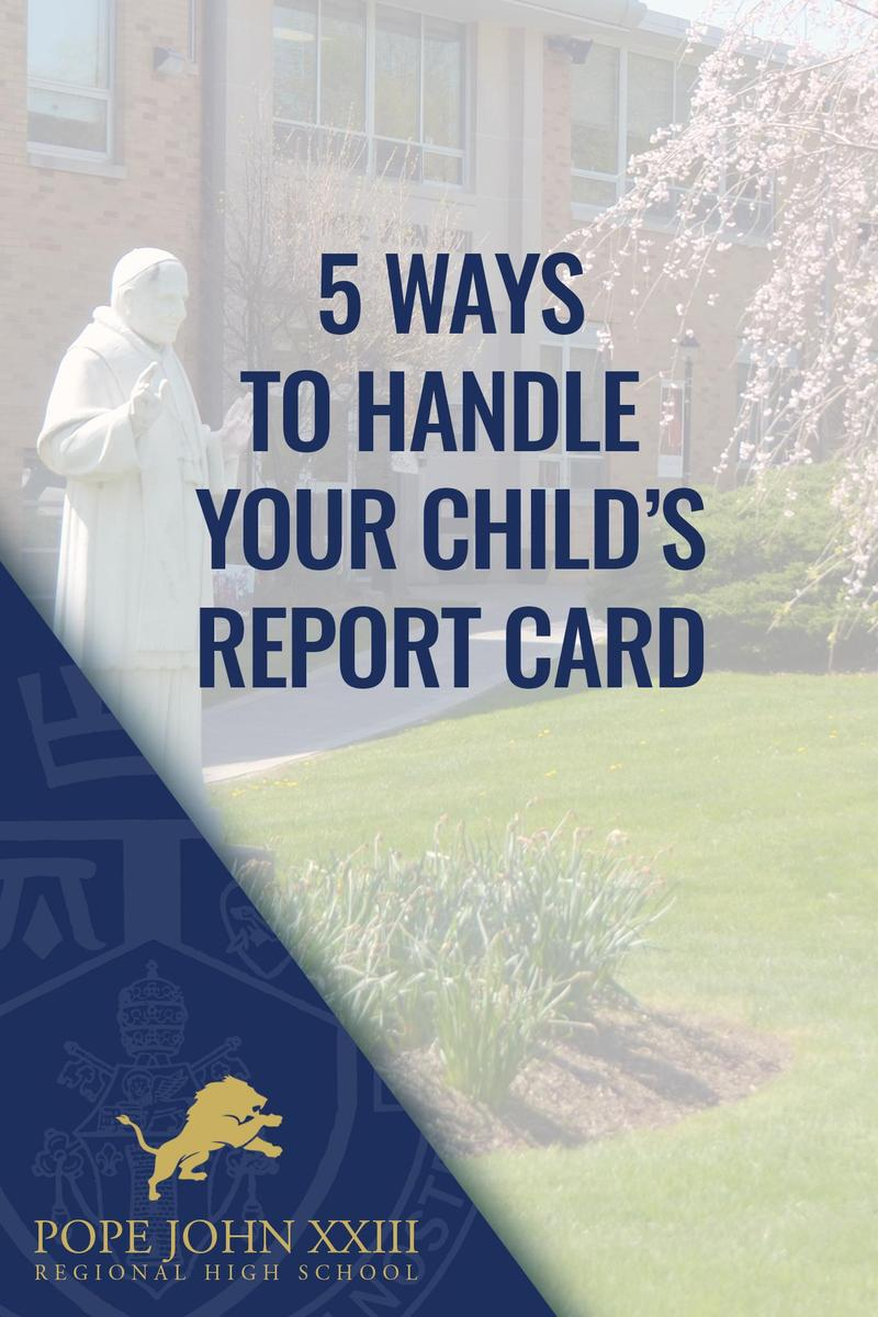 5 Ways to Handle Report Card Friday Five
