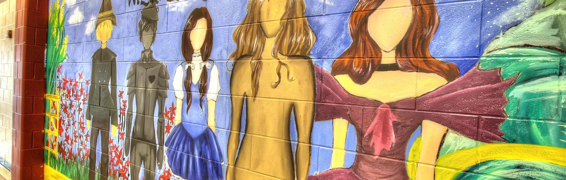 Mural O7GC Cafe