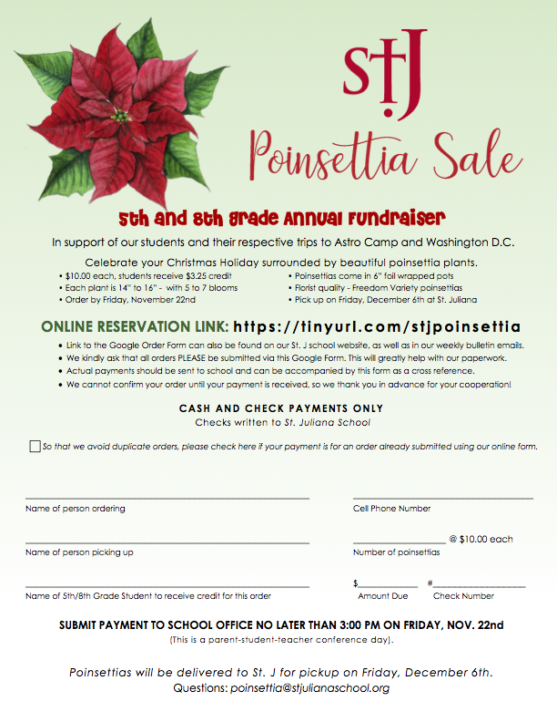 Poinsettia Sale Featured Photo