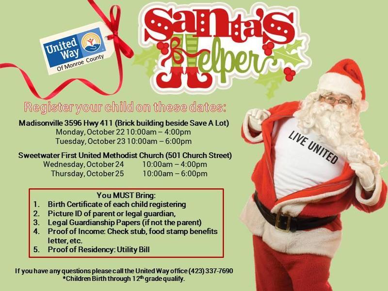 Santa's helper schedule