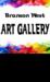 Branson West Art Gallery logo