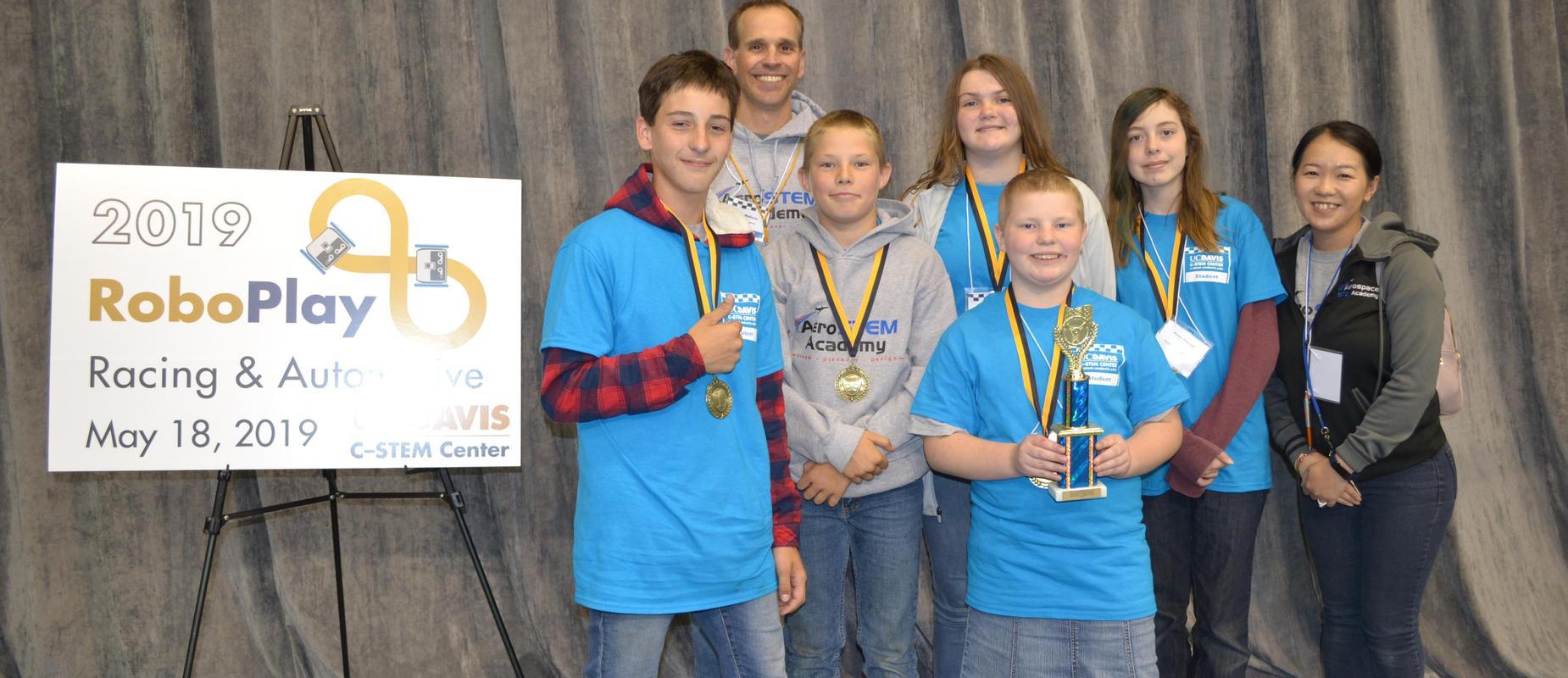 2019 6th Grade RoboPlay winners