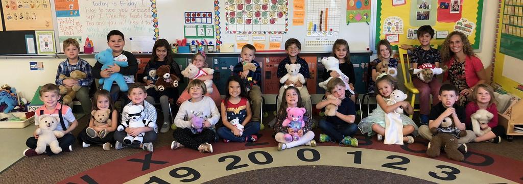 Teddy Bear Tea Mrs. Boone's Class