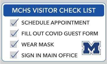 COVID guest check list