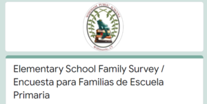 Elementary School Family Survey:  How are our Natchaug, Sweeney, North Windham, and Windham Center families feeling about reopening fully in-person? Thumbnail Image