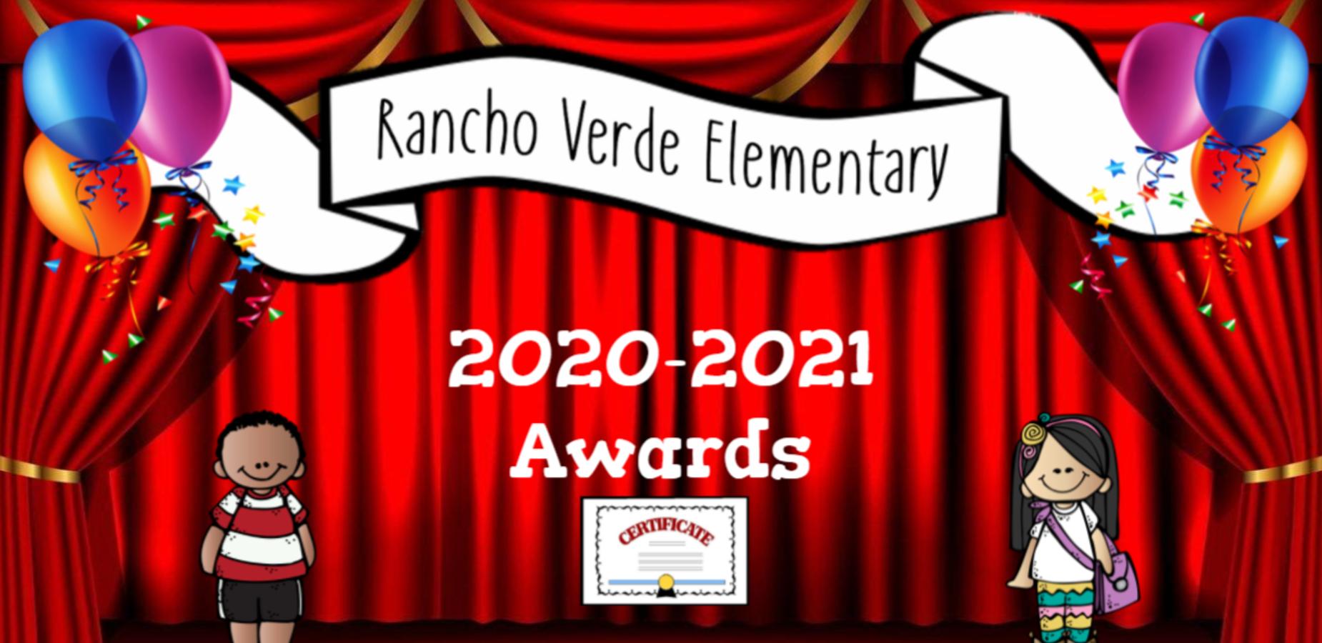 RVE Awards 2020-2021