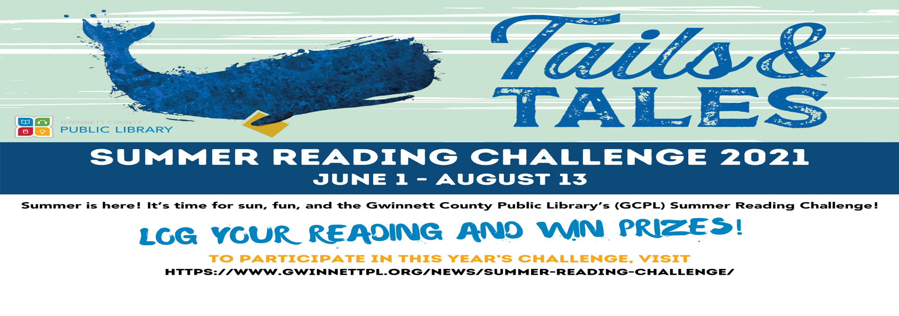 Summer Reading Challenge click to register