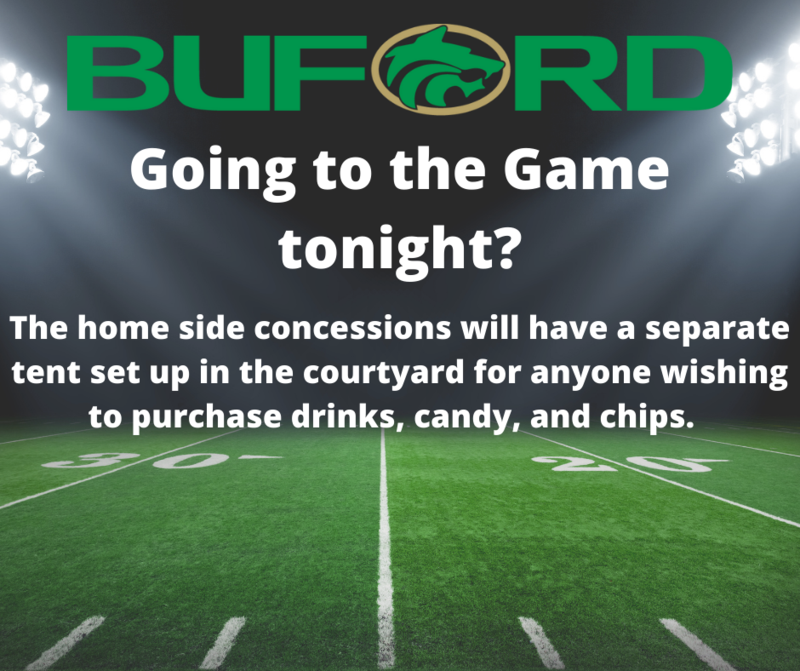 Concession stand Message