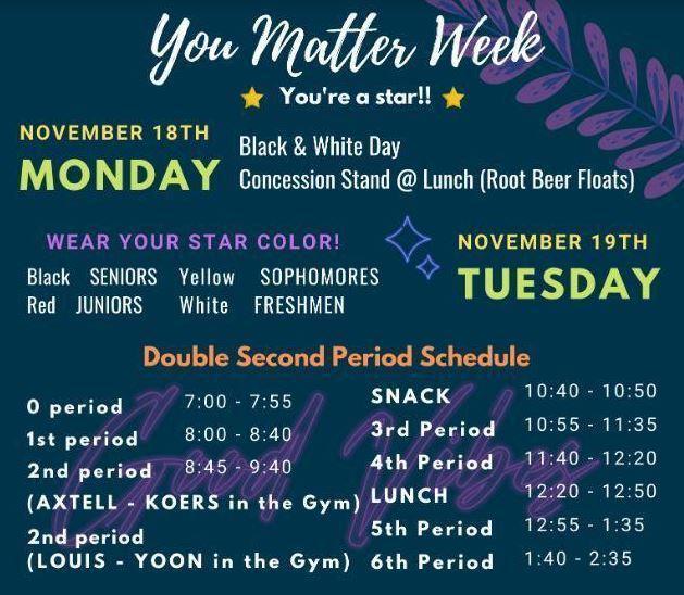 You Matter Week