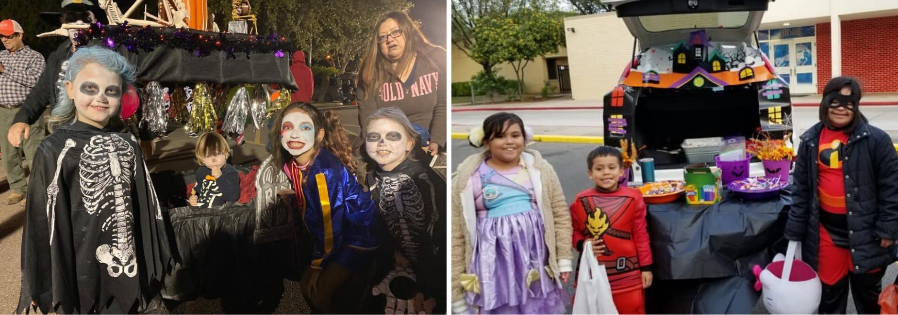 Milam's 1st Annual Trunk or Treat