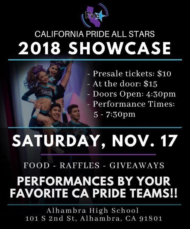 California Pride All Stars Showcase 2018 Featured Photo
