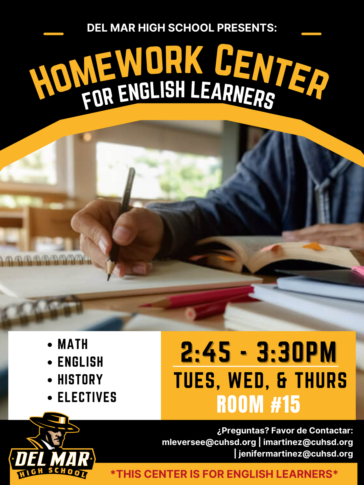 homework center for english learners